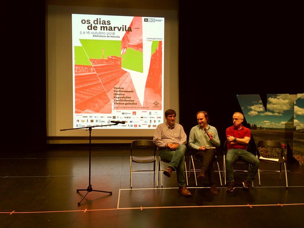 Sessão de Apresentação Pública do festival