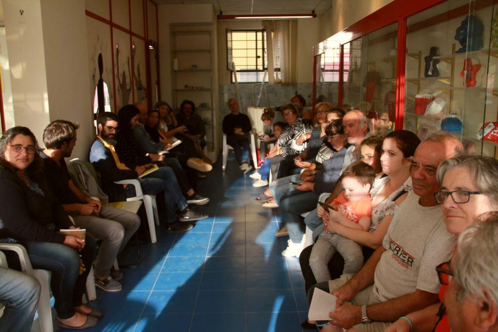 """Pop Up """"Os Dias de Marvila"""" Reunião Grupo Comunitário Quarto Crescente"""