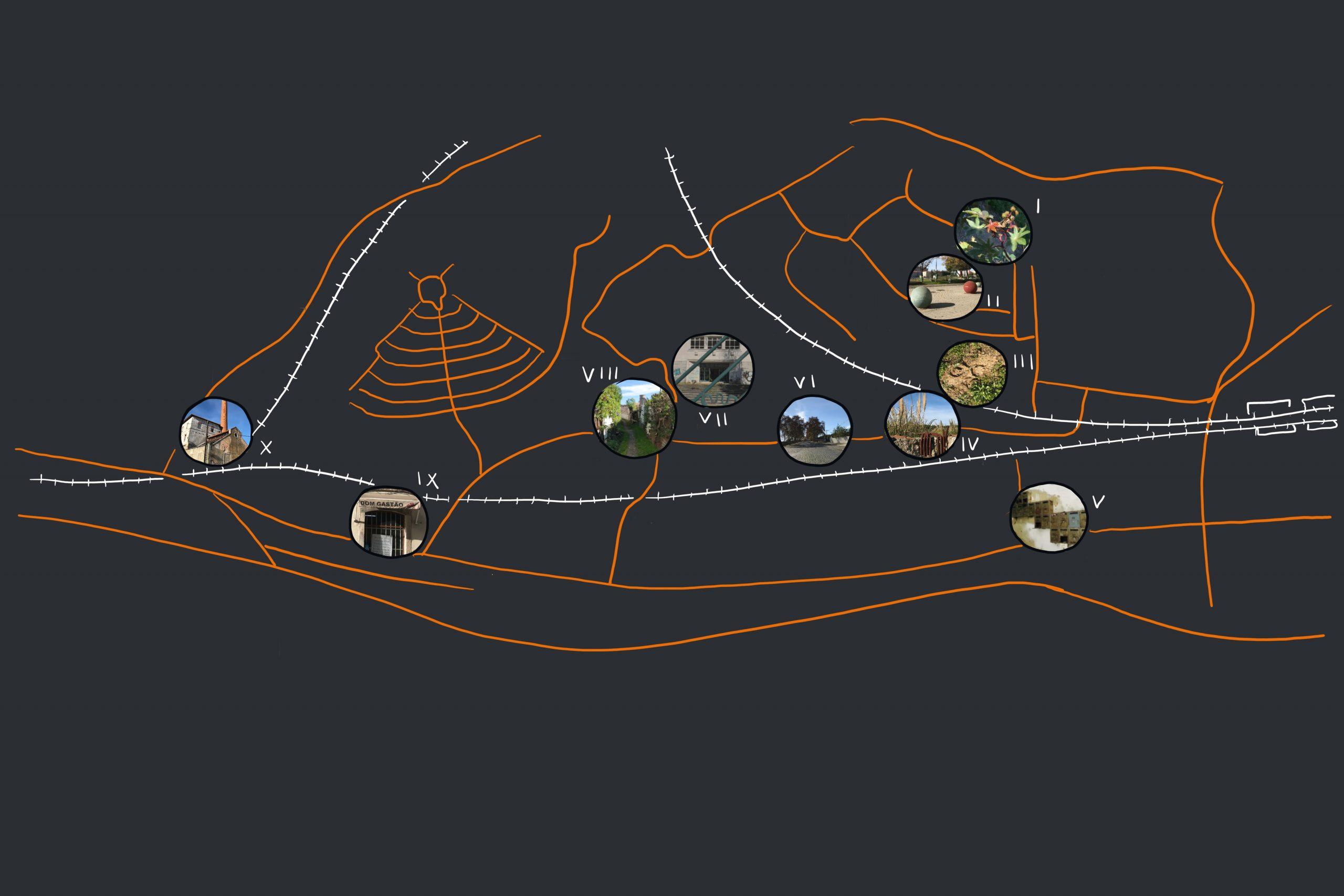 Mapa dos vazios